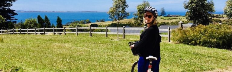 enjoying pinot coast australia food & wine   cycling on mornington peninsula