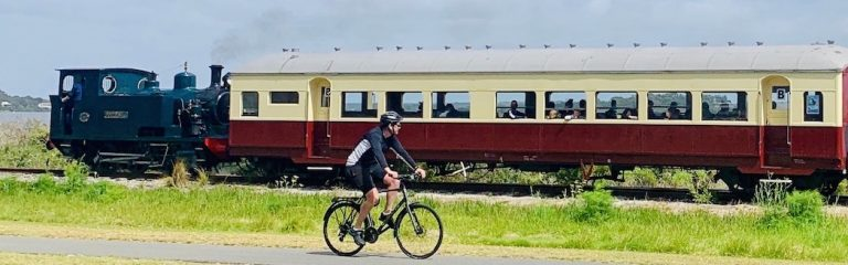 enjoying a fun and active cycle tours with local food and wine
