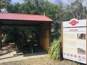 historic curlewis railway station
