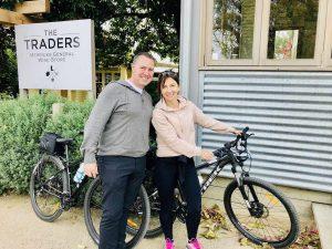 visiting merricks general store on a mornington peninsula cycle tour
