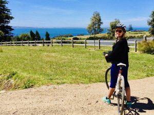enjoying pinot coast australia food & wine on a cycling adventure