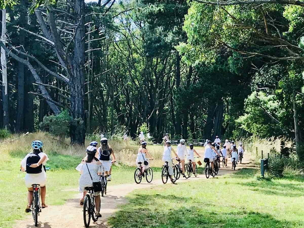 hens party cycle tour